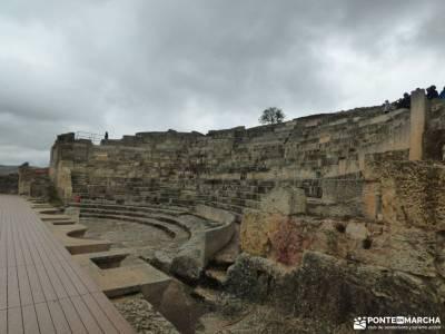 Parque Arqueológico Segóbriga-Monasterio Uclés;vacaciones de agosto parque natural cuenca alta de